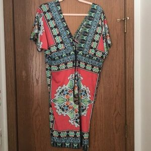 Other - Printed swimsuit coverup